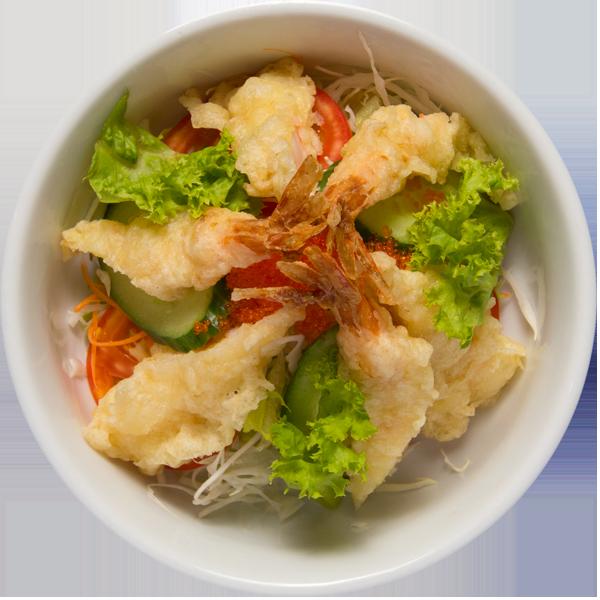tempura-salad